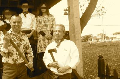 有吉ゼミ、撮影後にゴルゴ松本さんと記念写真