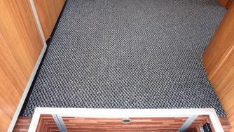 Teppich im Eingangsbereich