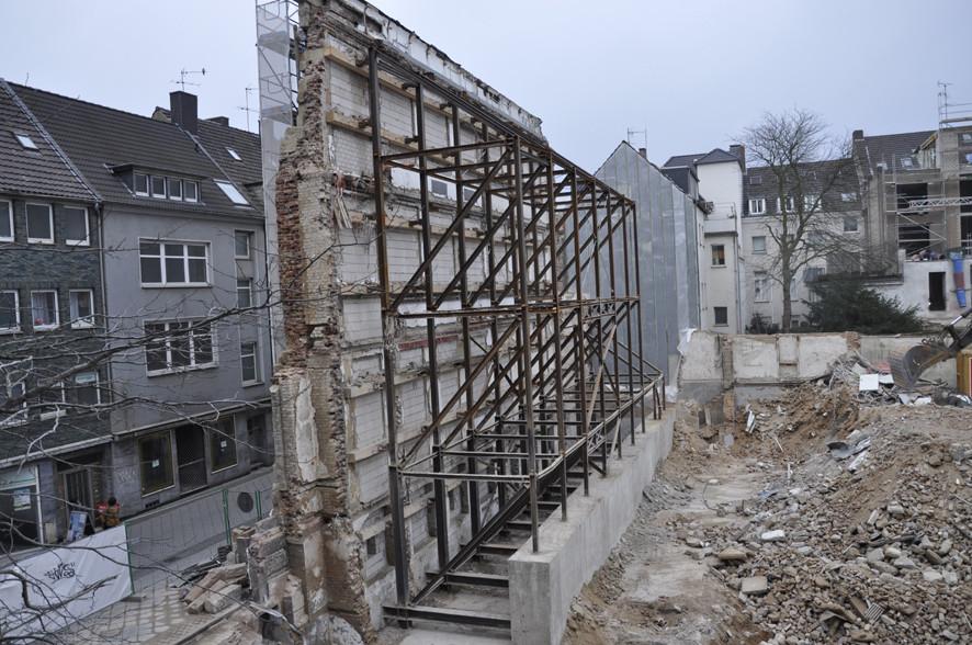Abriß WKS Petersstrasse © 2014, Ernst Weber