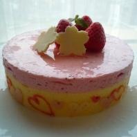 春のお祝いケーキ