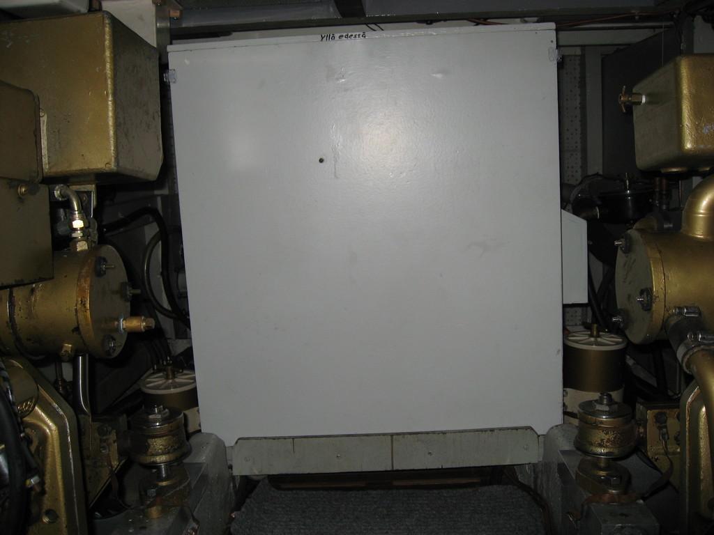 Generator abgedeckt