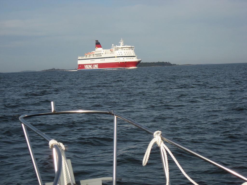 Viking-Line hat Vorfahrt