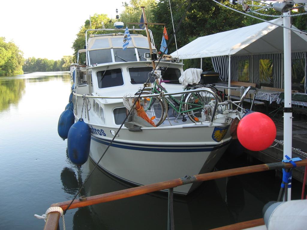 Albatross aus Germersheim: von ihnen haben wir viele Informationen über die Donaufahrt bekommen