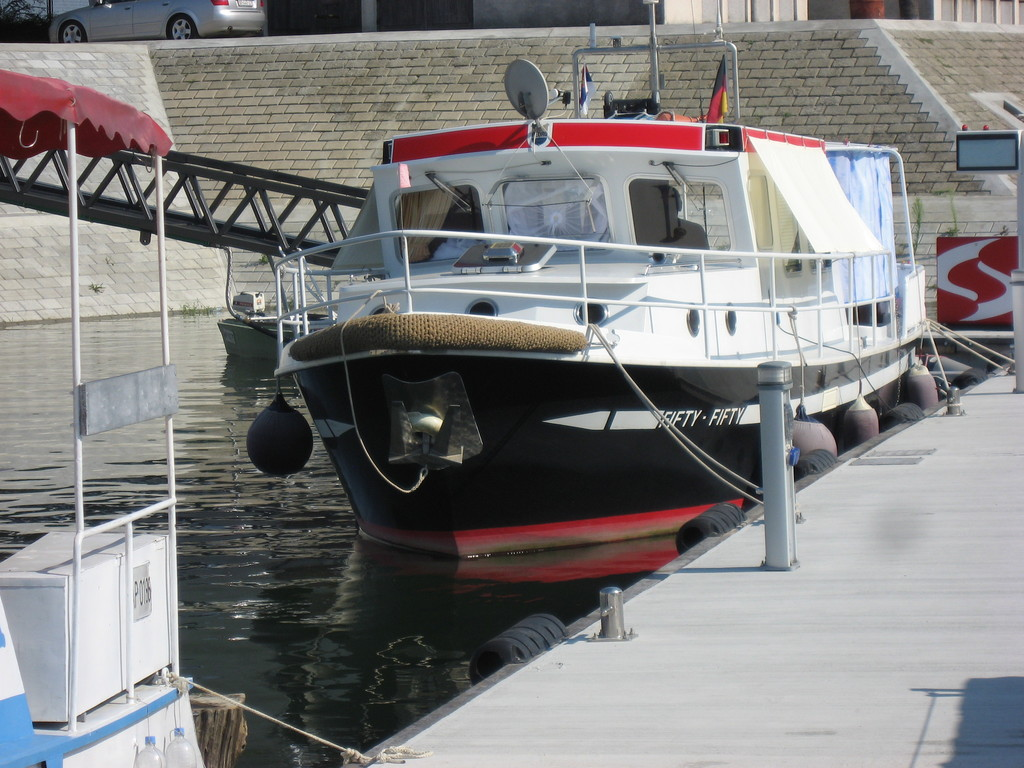 Fifty-Fifty möchte das Boot in Apatin überwintern
