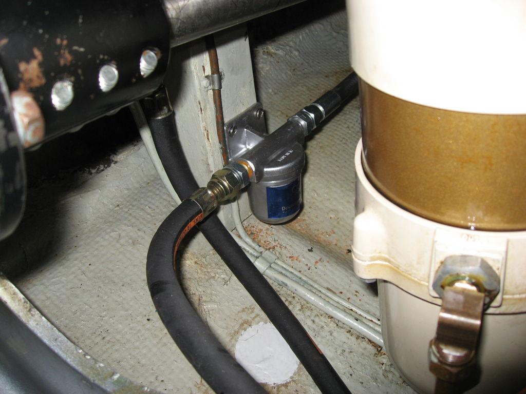 Dieseldecontaminator