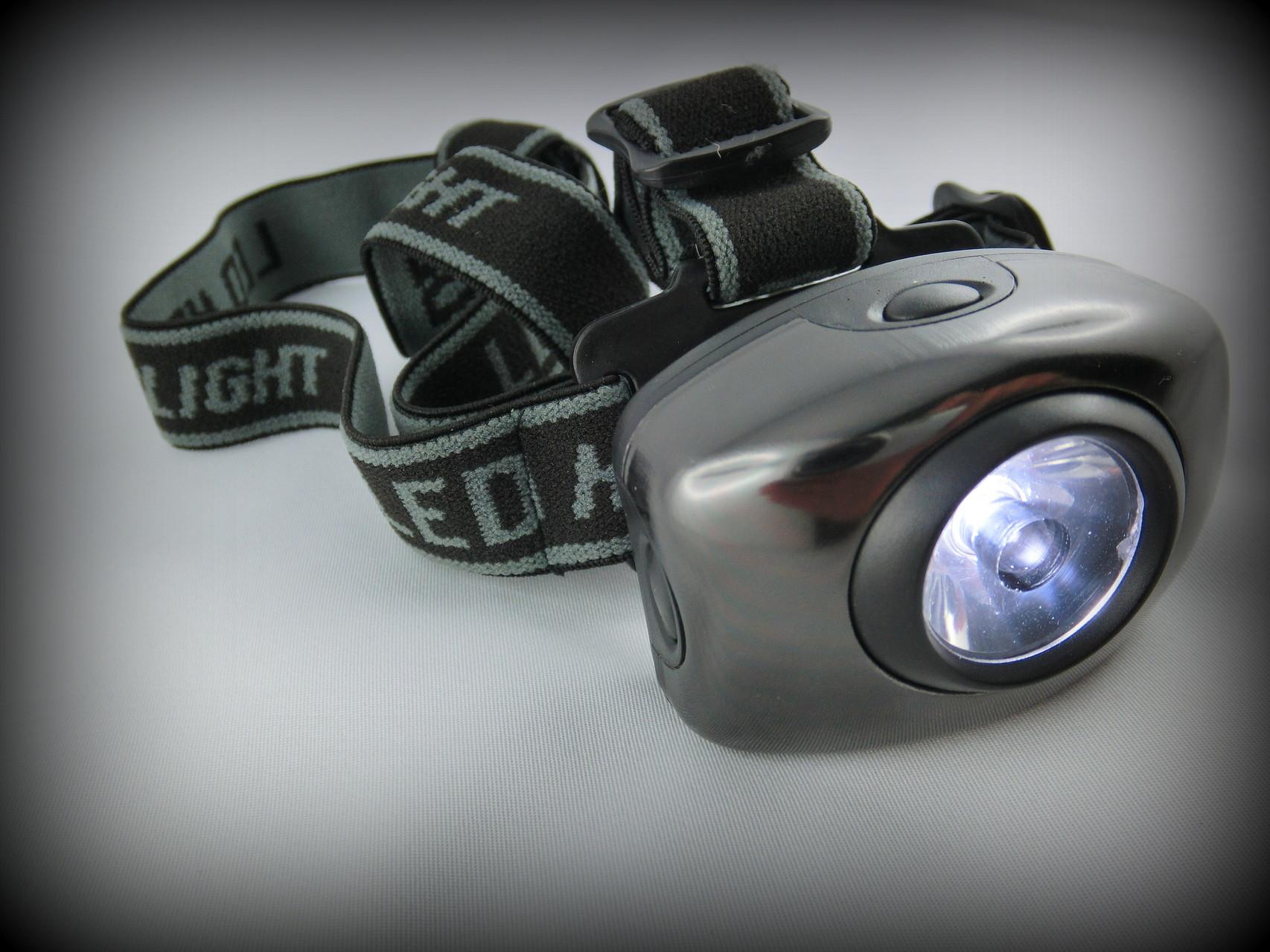 Kopflampe für Jogger