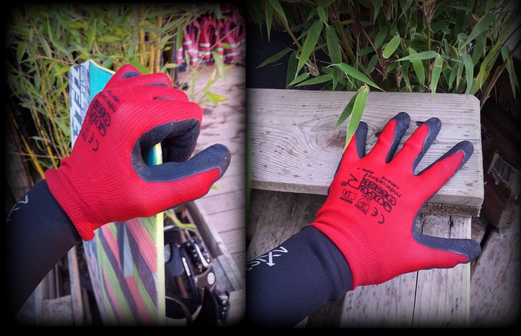 Handschuhe (Waken, Kiten etc.) genialer Grip!