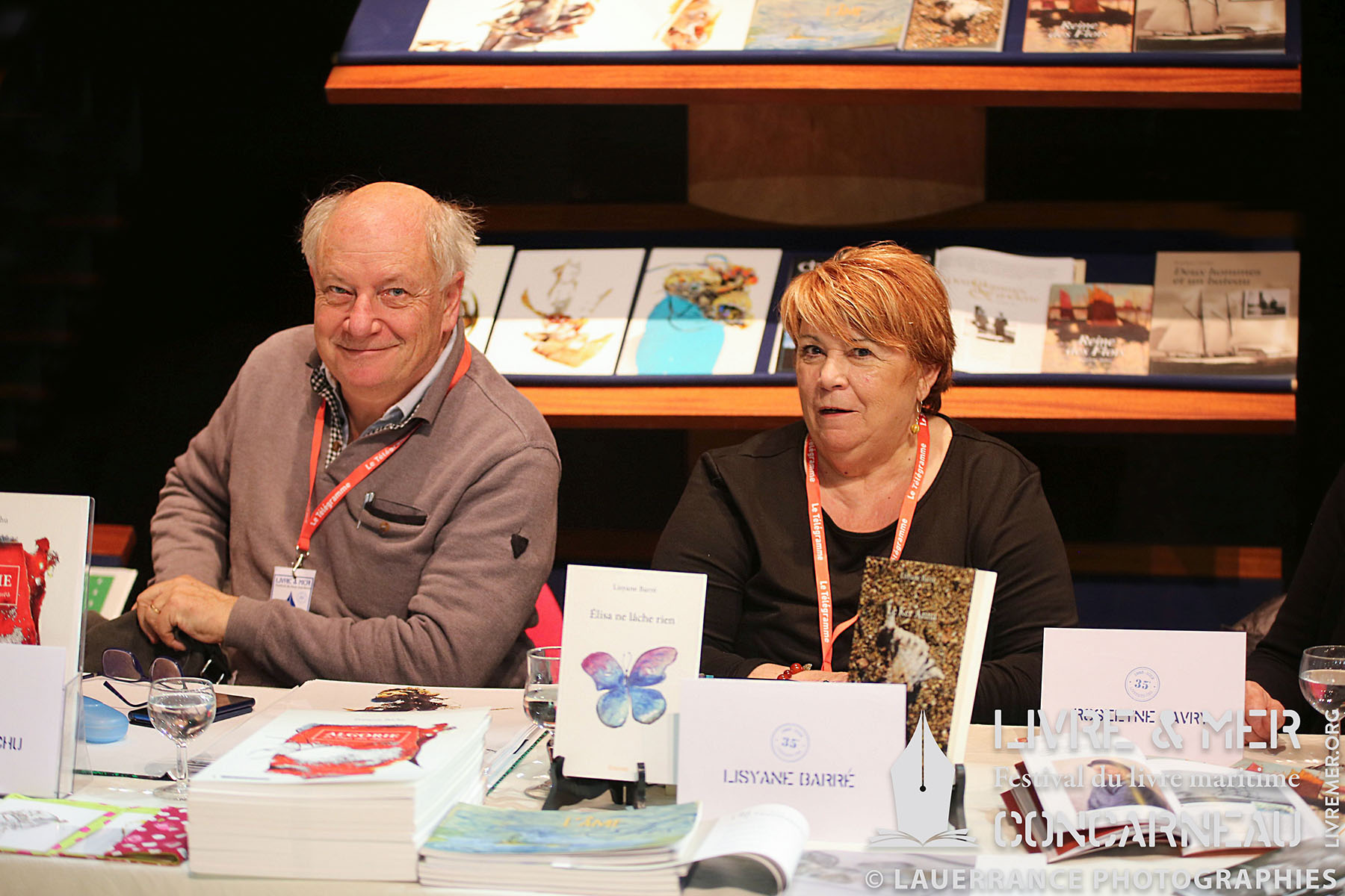 François Béchu & Lisyane Barré © Lauerrance Photographies