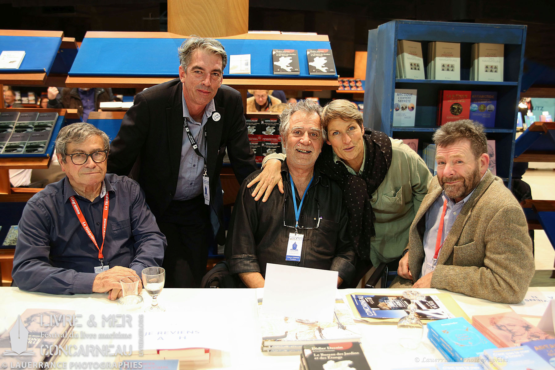 François Bellec, BHLG, Jacques Campion, Anne Quéméré & Dominique Le Brun © Lauerrance Photographies