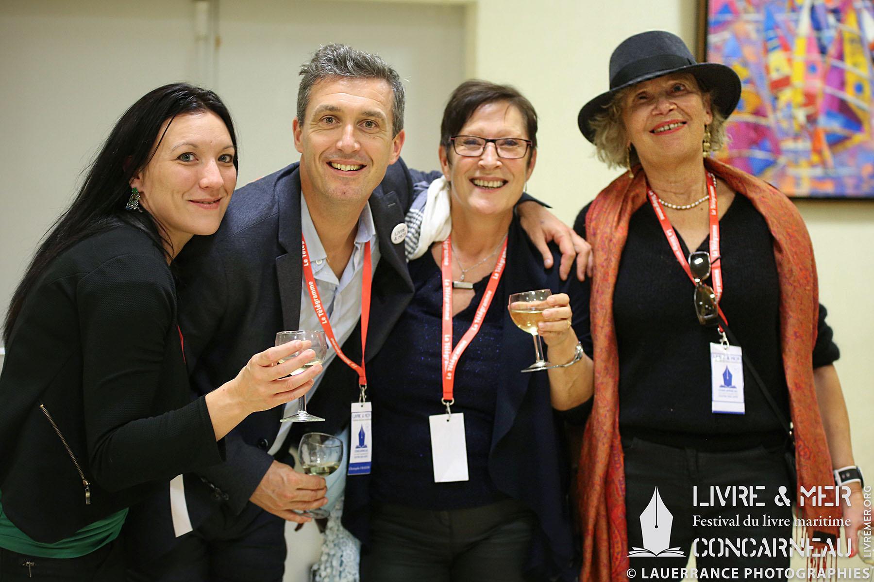 Audrey, Christophe, Mado & Josseline Kerbonne © Lauerrance Photographies