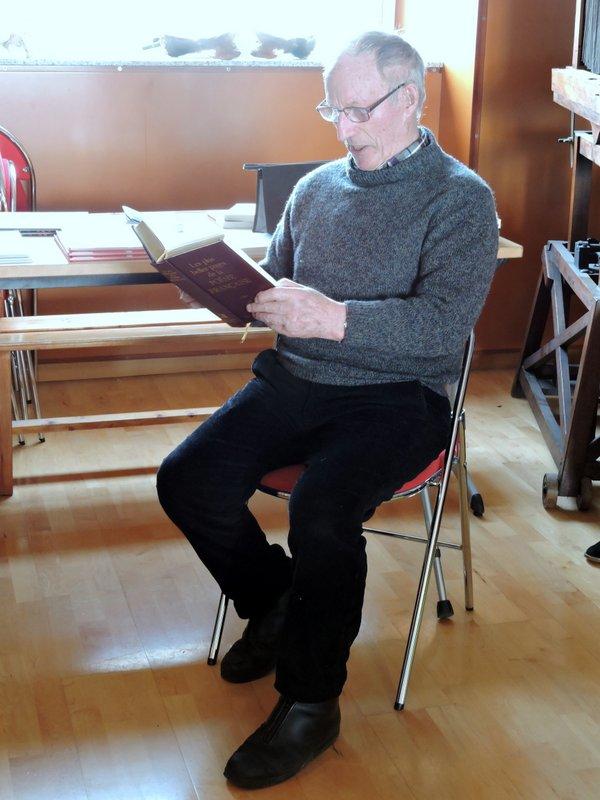 Quelques uns ont répondu à notre invitation à lire les textes maritimes qui leur tenaient à coeur.