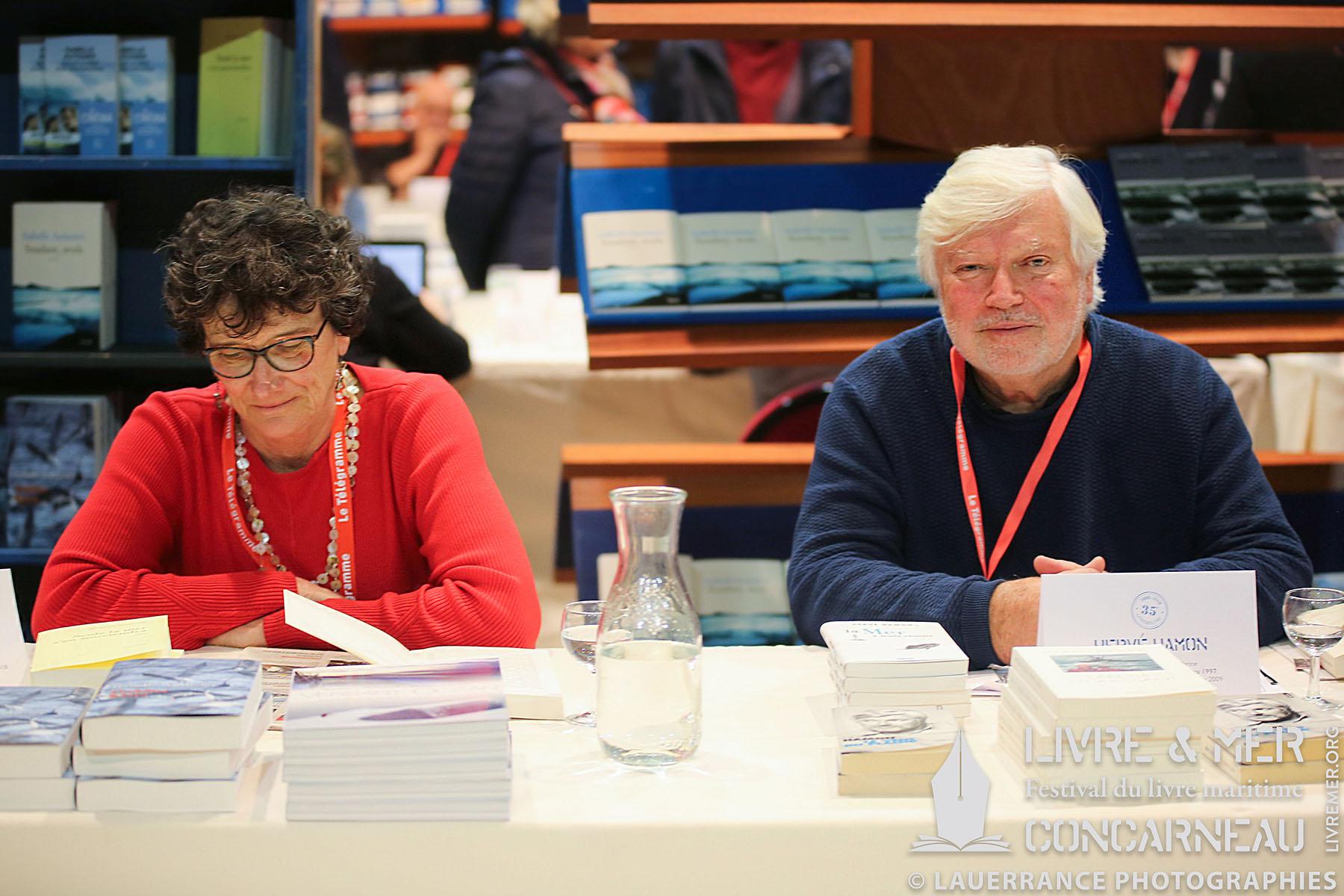 Isabelle Autissier & Hervé Hamon © Lauerrance Photographies