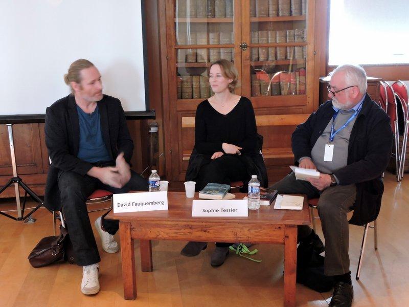 David Fauquemberg et Sophie Tessier interviewés par Raymond Cosquéric