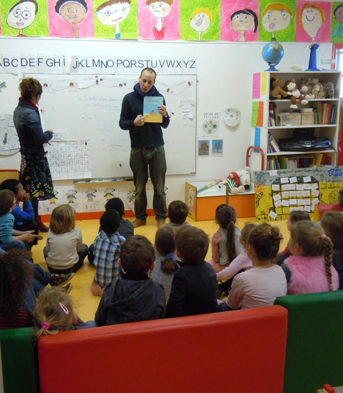 Rencontre scolaire Adrien Albert © C. Le Bonhomme