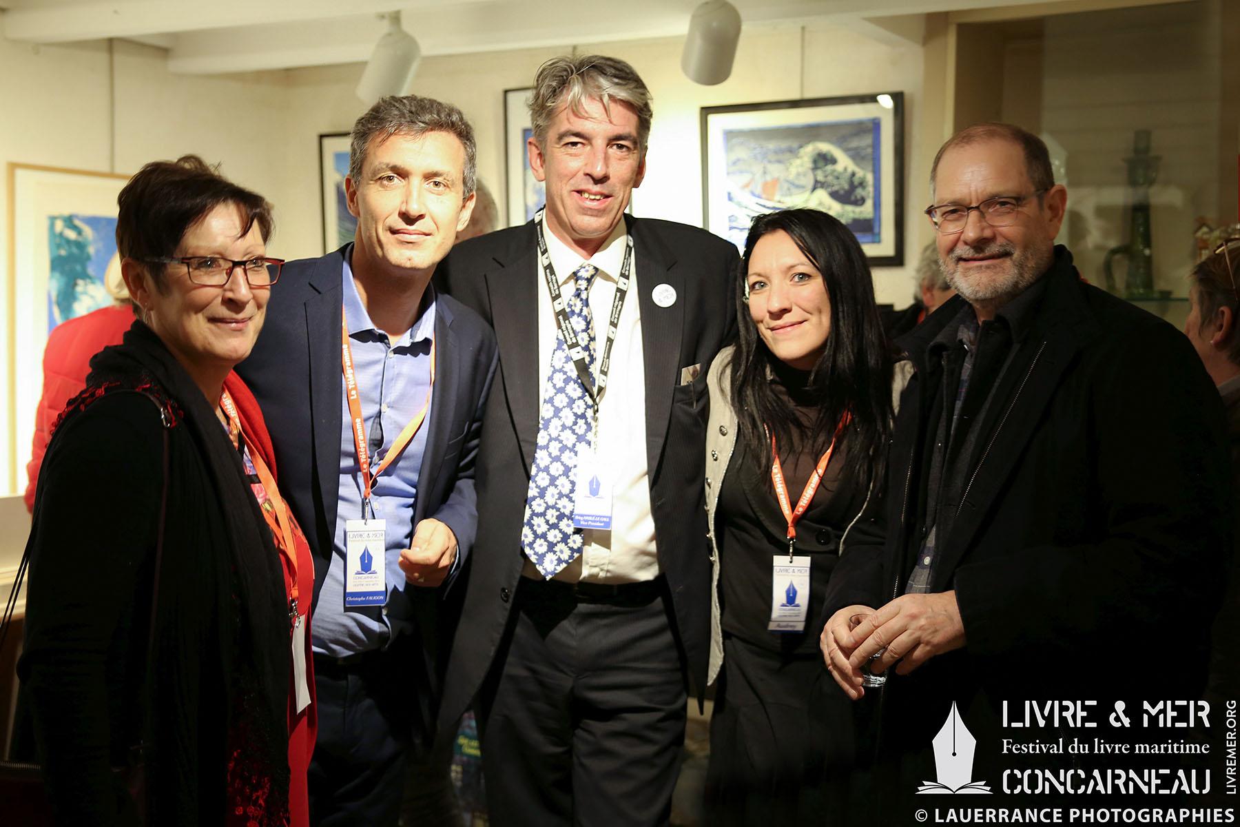 Mado, Christophe, BHLG, Audrey & Jean-Paul Honoré © Lauerrance Photographies