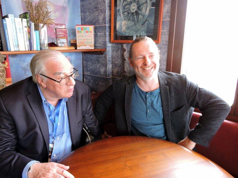 deux écrivains complices…