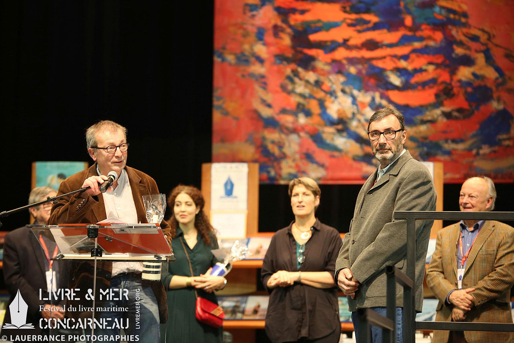 Pierre-François Bonneau & Benoît Stichelbaut, Mention spéciale du Prix du beau livre maritime 2019 © Lauerrance Photographies