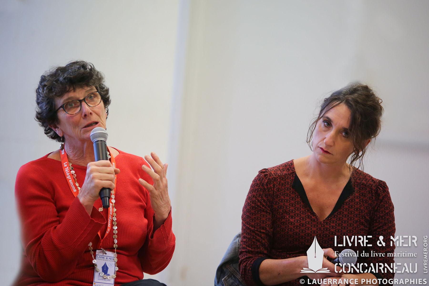 Isabelle Autissier & Anne Zobolas © Lauerrance Photographies