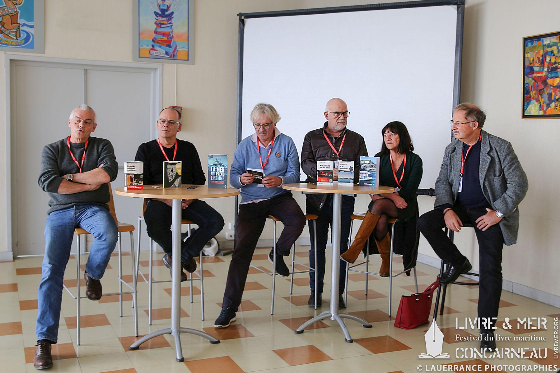 Pierre Pouchairet, Pascal Millet, Guy Rechenmann, Christian Blanchard, Françoise Le Mer & Alex Nicol © Lauerrance Photographies