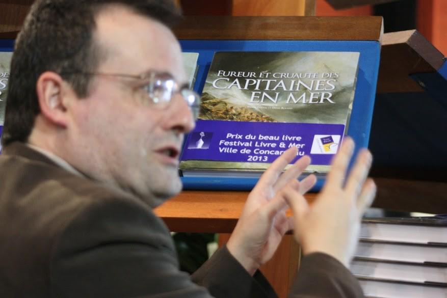 Pierre Prétou, lauréat Prix beau livre, © Ph. Bertrand