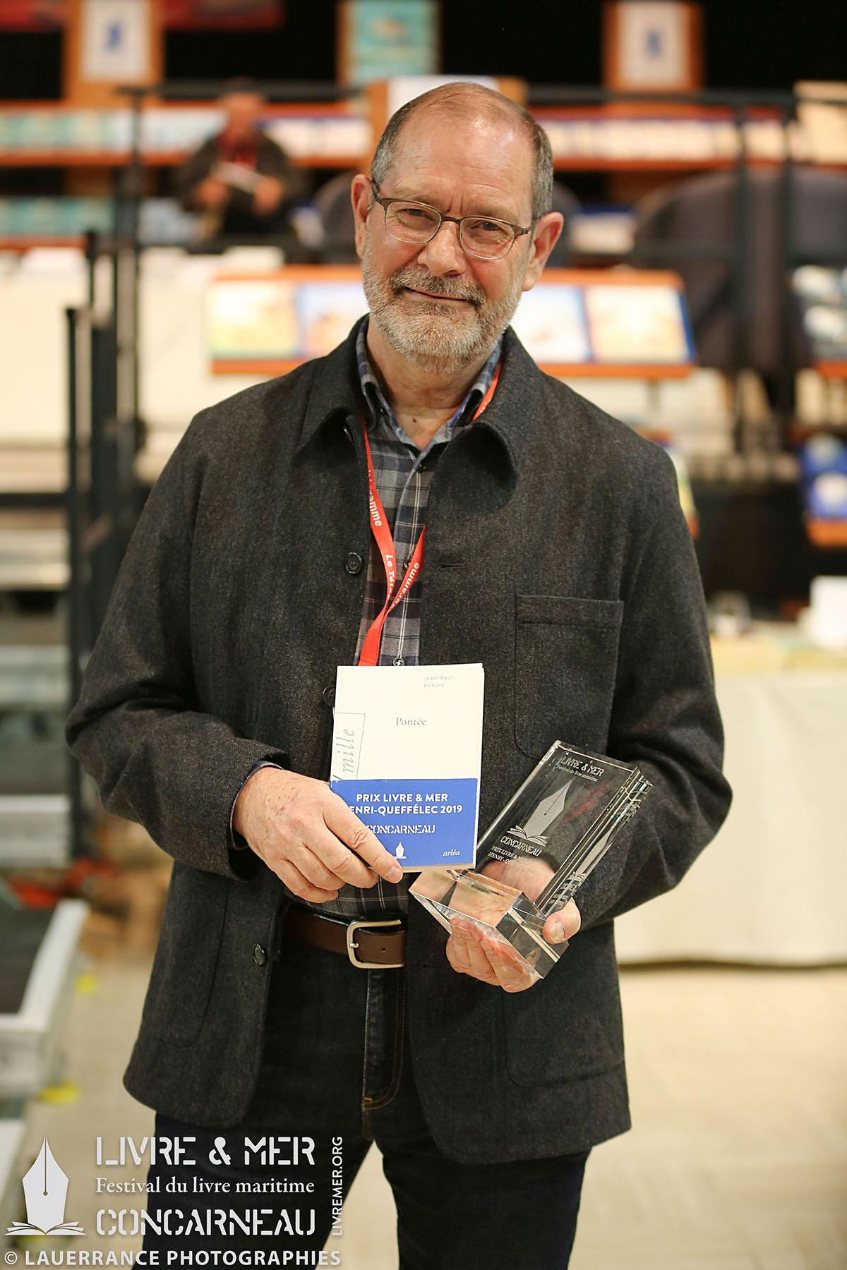 Jean-Paul Honoré, Prix Livre & Mer Henri-Queffélec 2019 © Lauerrance Photographies