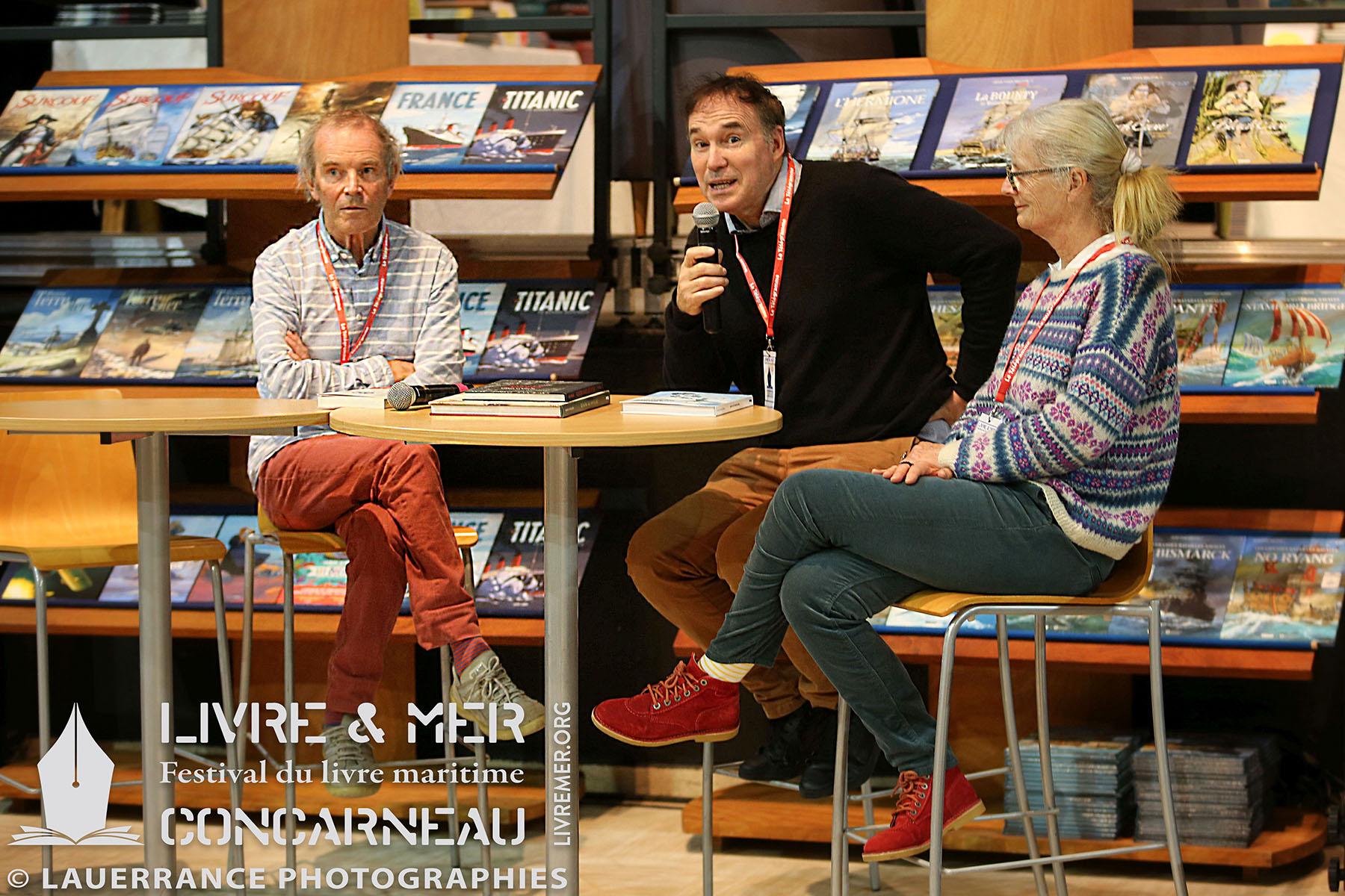Olivier & Sibylle Le Carrer avec Alain-Gabriel Monot © Lauerrance Photographies