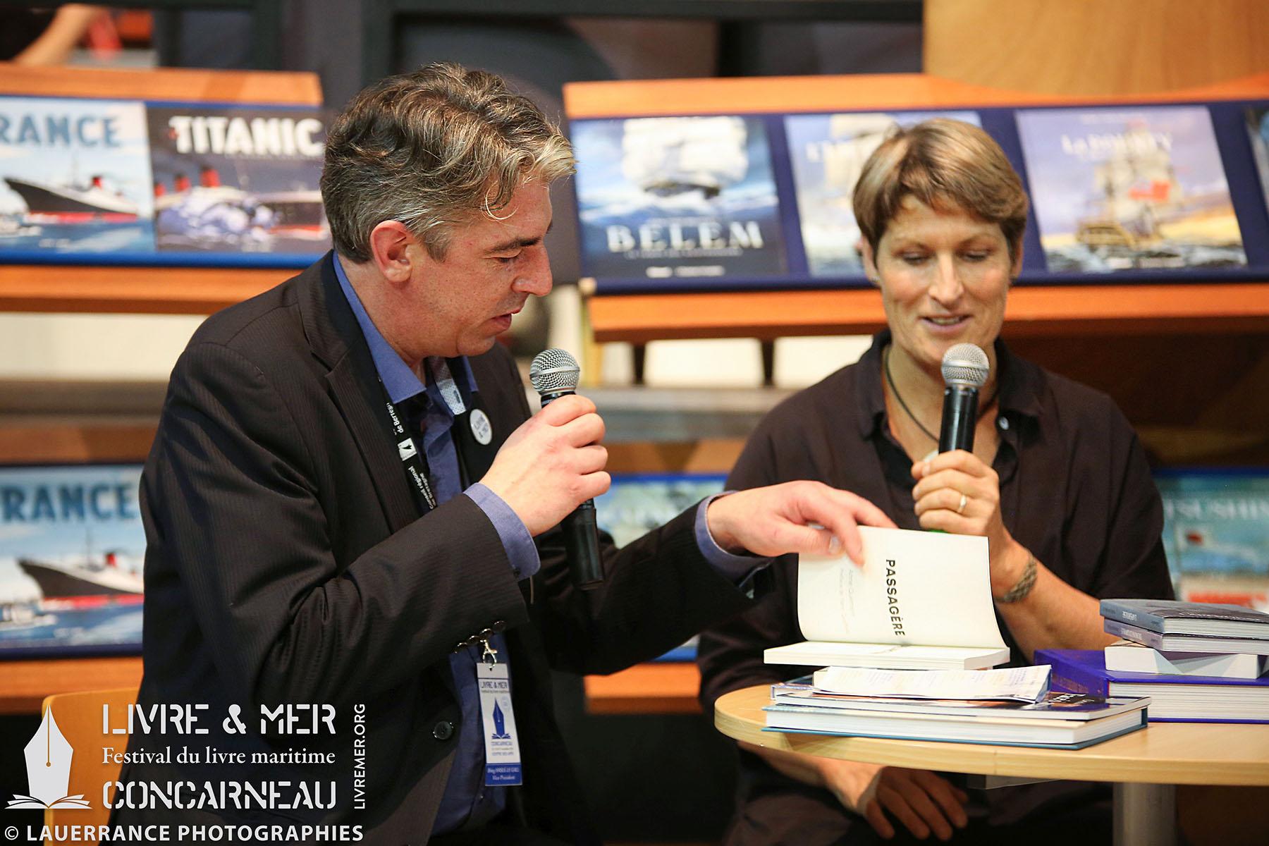 Brieg Haslé-Le Gall & Anne Quéméré © Lauerrance Photographies