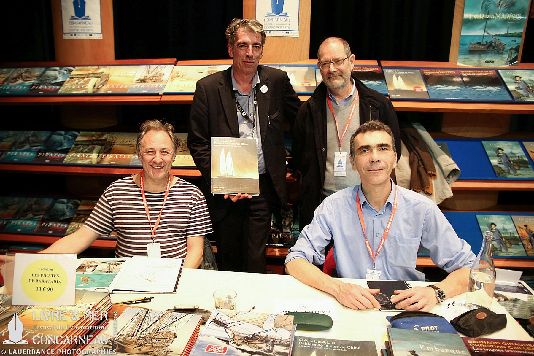 Franck Bonnet, BHLG, Jean-Paul Honoré & Christian Cailleaux © Lauerrance Photographies