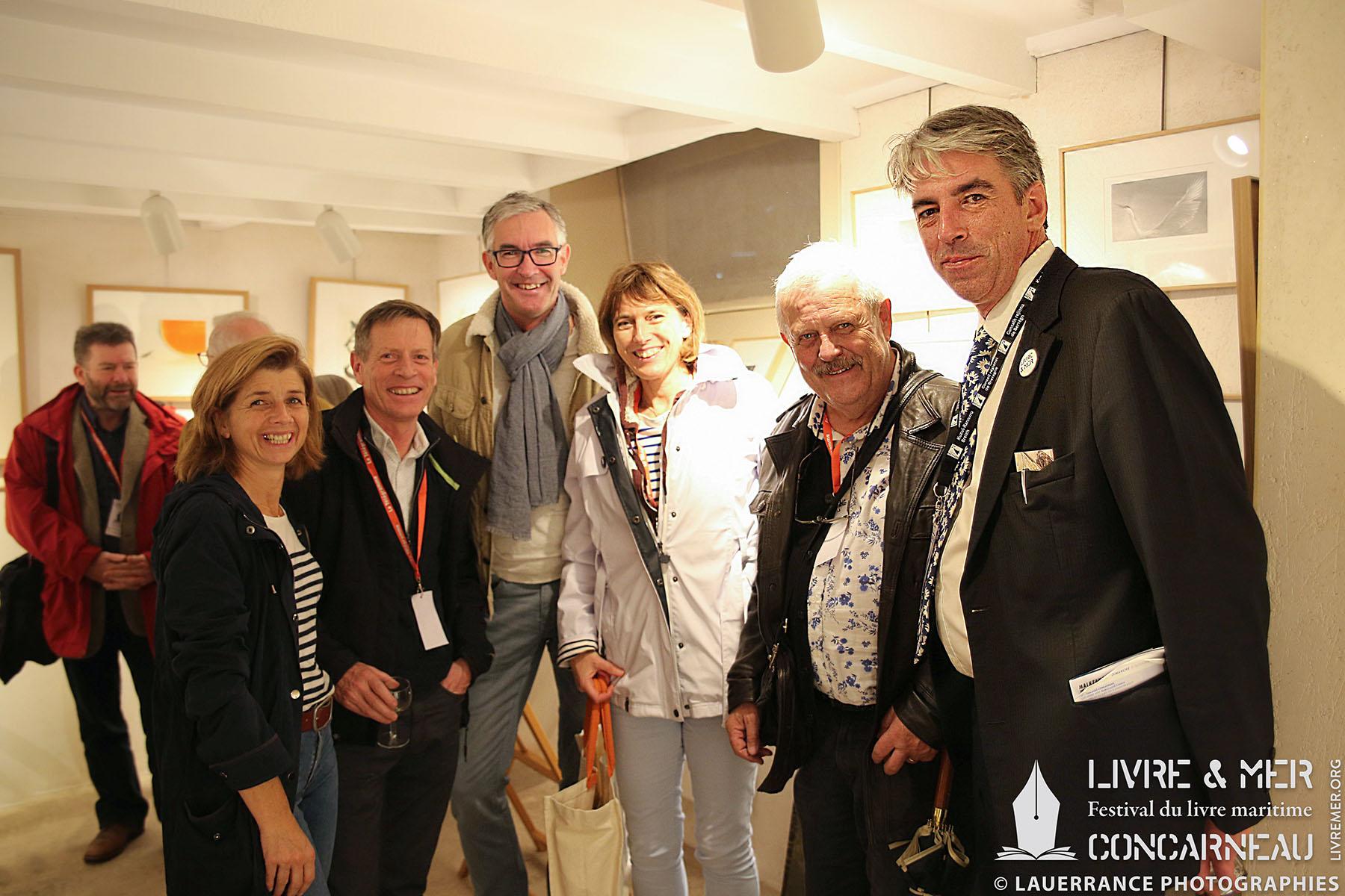 Amélia Corre, Alain Quénéhervé, Christine Le Dérout, Daniel Cario & Brieg Haslé-Le Gall © Lauerrance Photographies