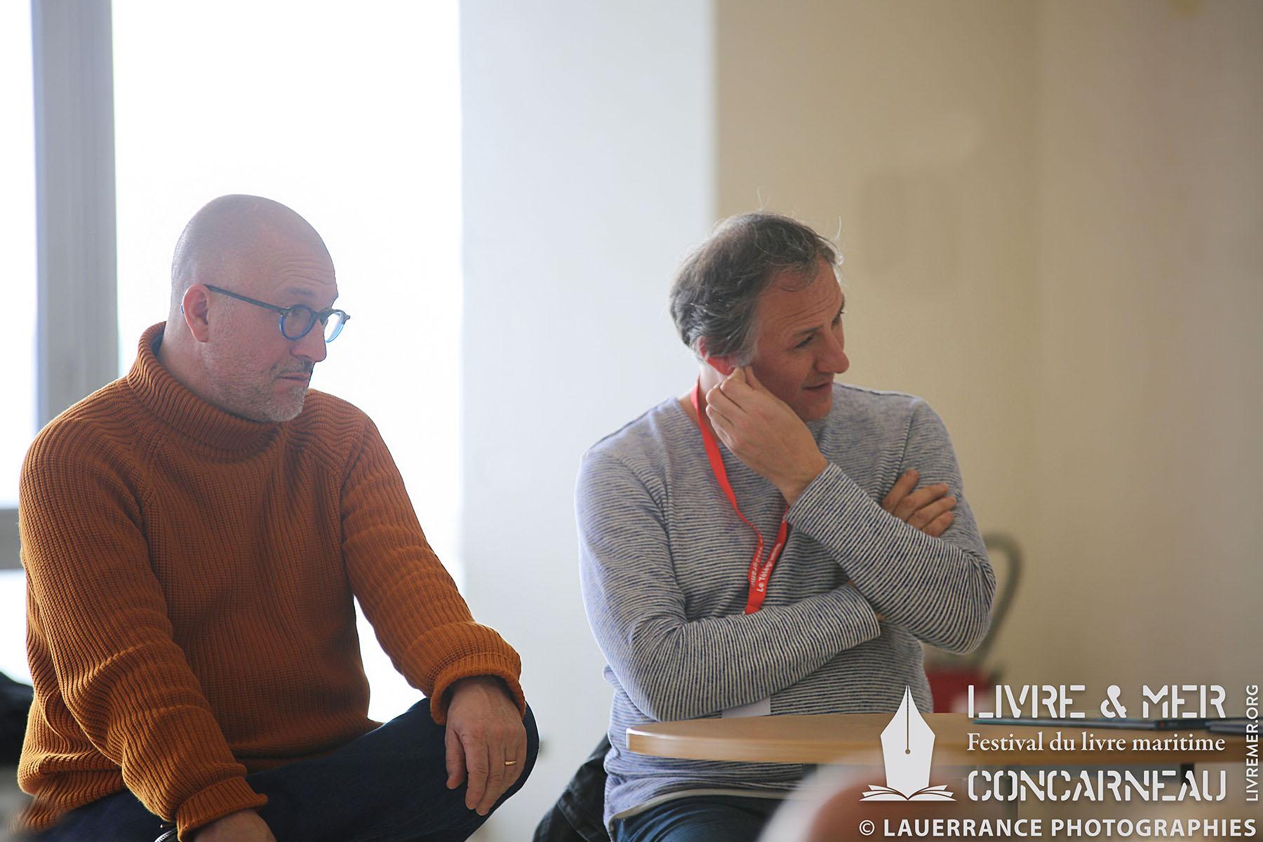 Jean-Yves Delitte & Franck Bonnet © Lauerrance Photographies