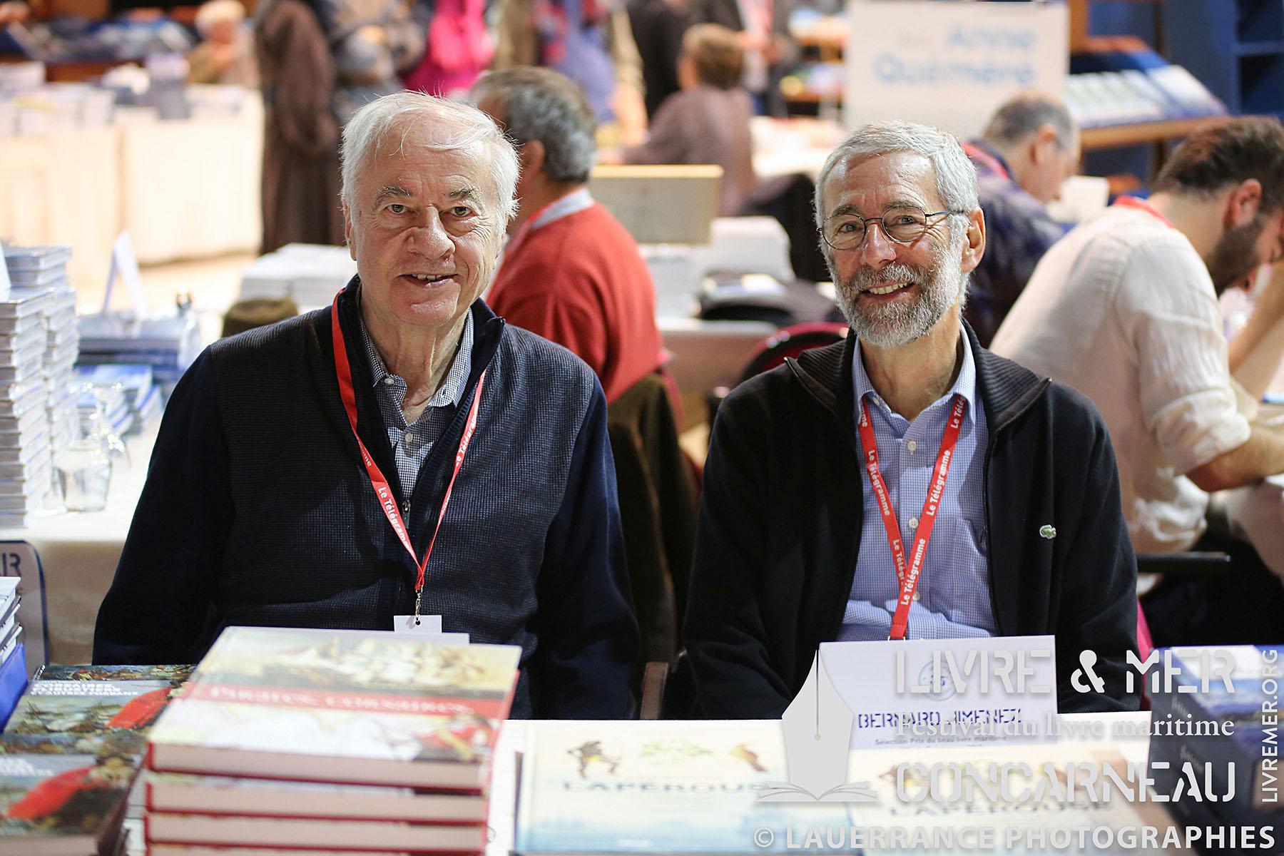 Gérard Piouffre & Bernard Jimenez © Lauerrance Photographies