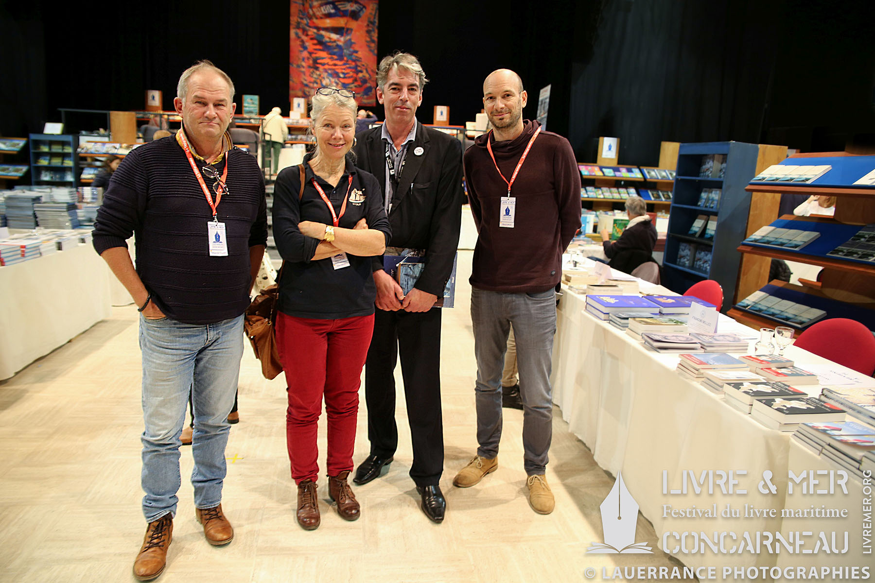 Philippe Gloaguen, Anne Smith, BHLG & Clément Belin © Lauerrance Photographies