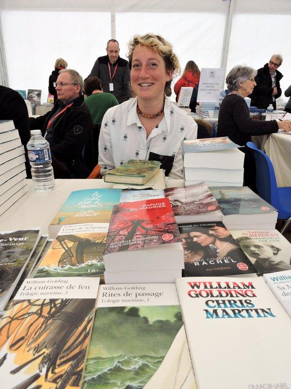 Polly Gregson venue présenter la littérature maritime des Cornouailles anglaises
