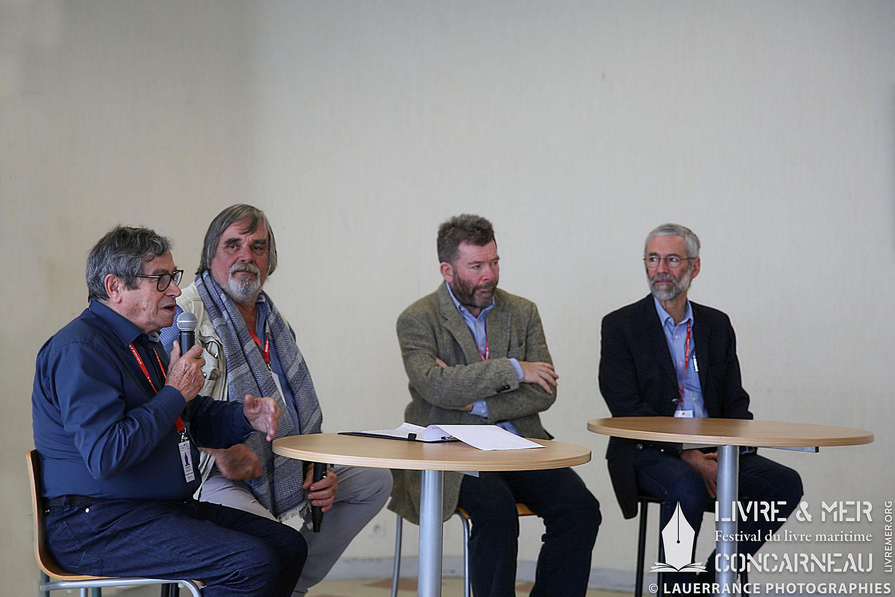 François Bellec, Patrice Lemonnier, Dominique Le Brun & Bernard Jimenez © Lauerrance Photographies