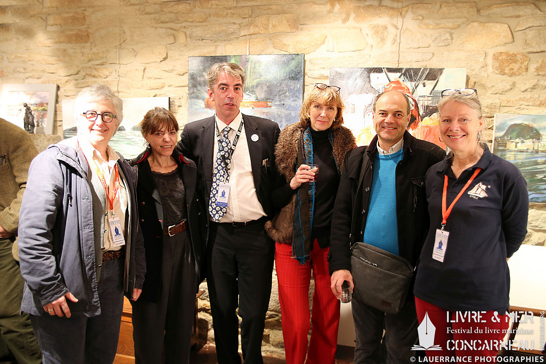 Anne Forrer, Ève Tharlet, BHLG, Brigitte Luciani, Florent Patron & Anne Smith © Lauerrance Photographies