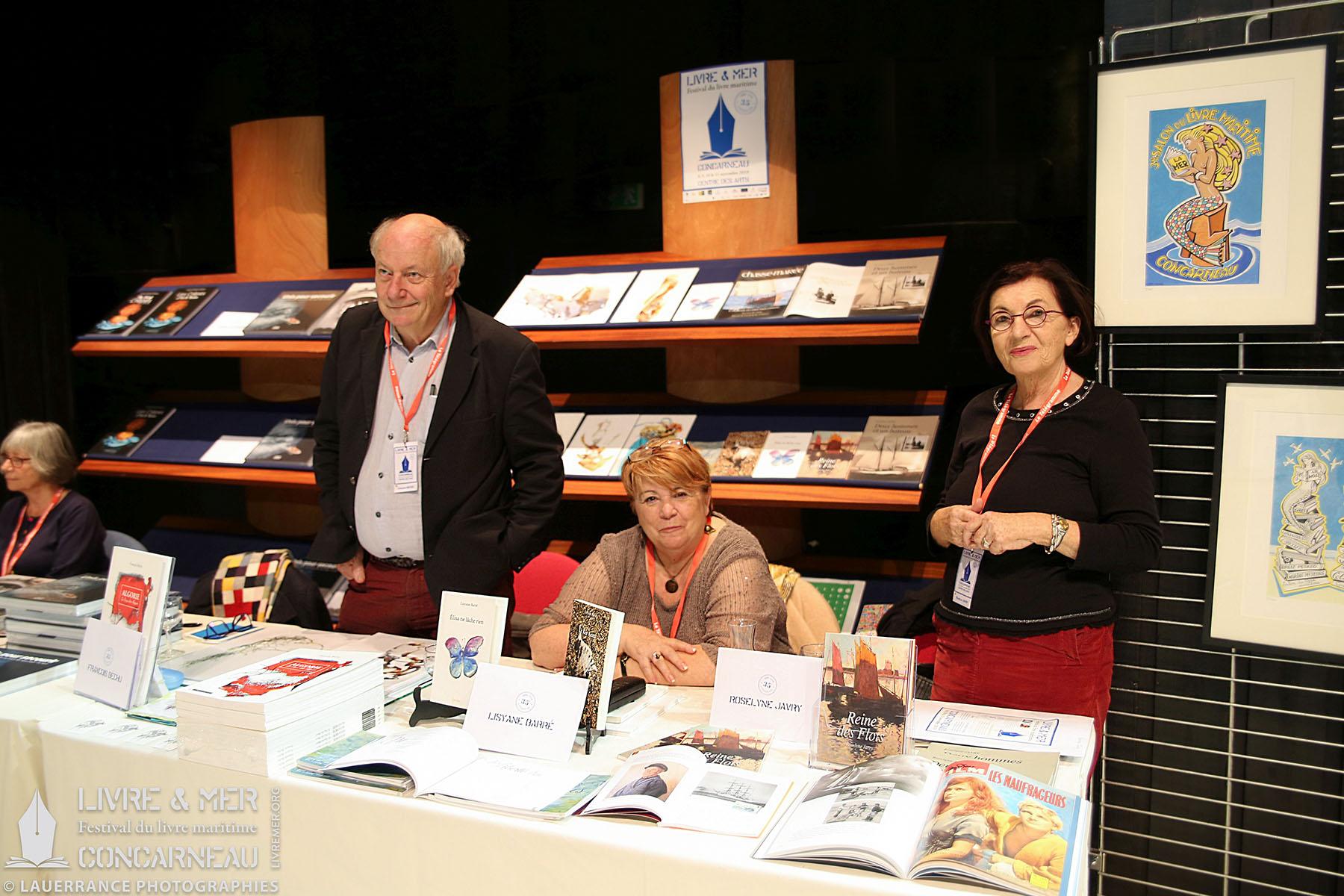 François Béchu, Lisyane Barré & Roselyne Javry © Lauerrance Photographies