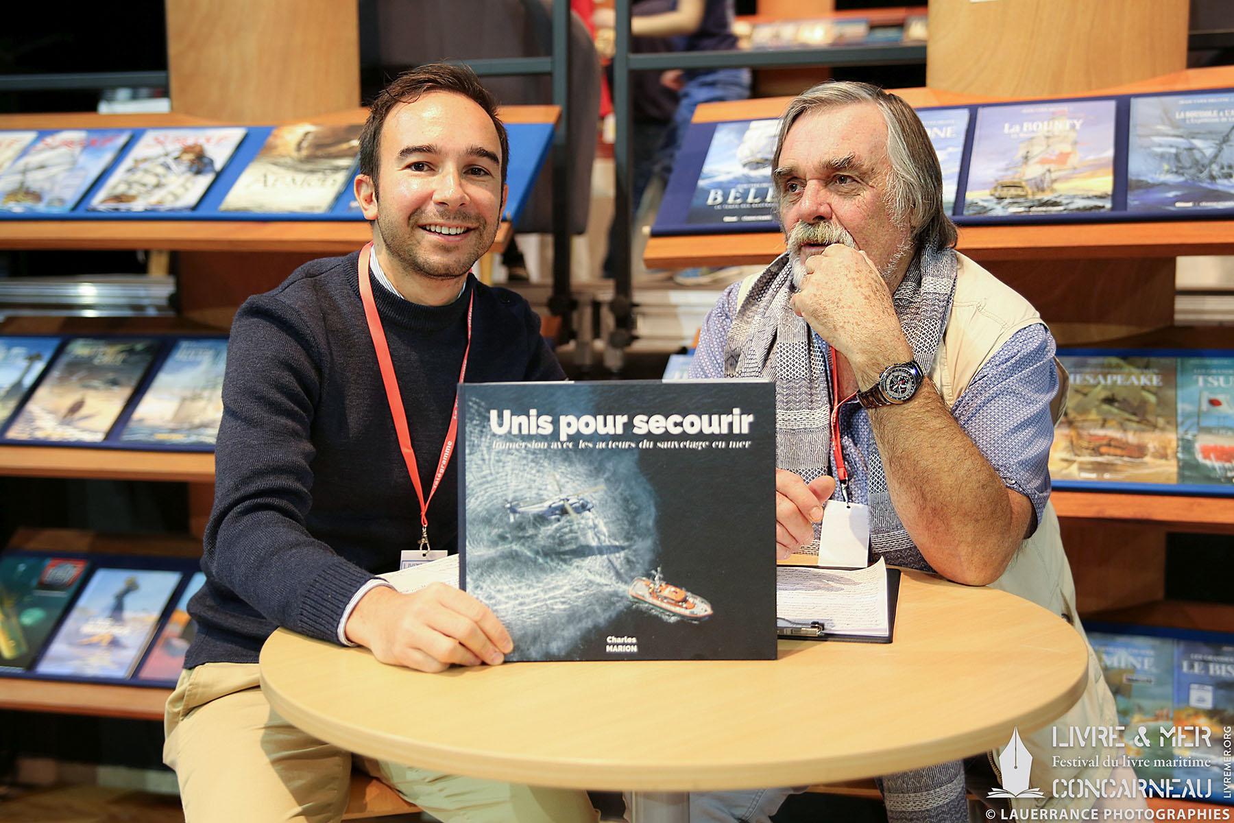 Charles Marion & Patrice Lemonnier © Lauerrance Photographies