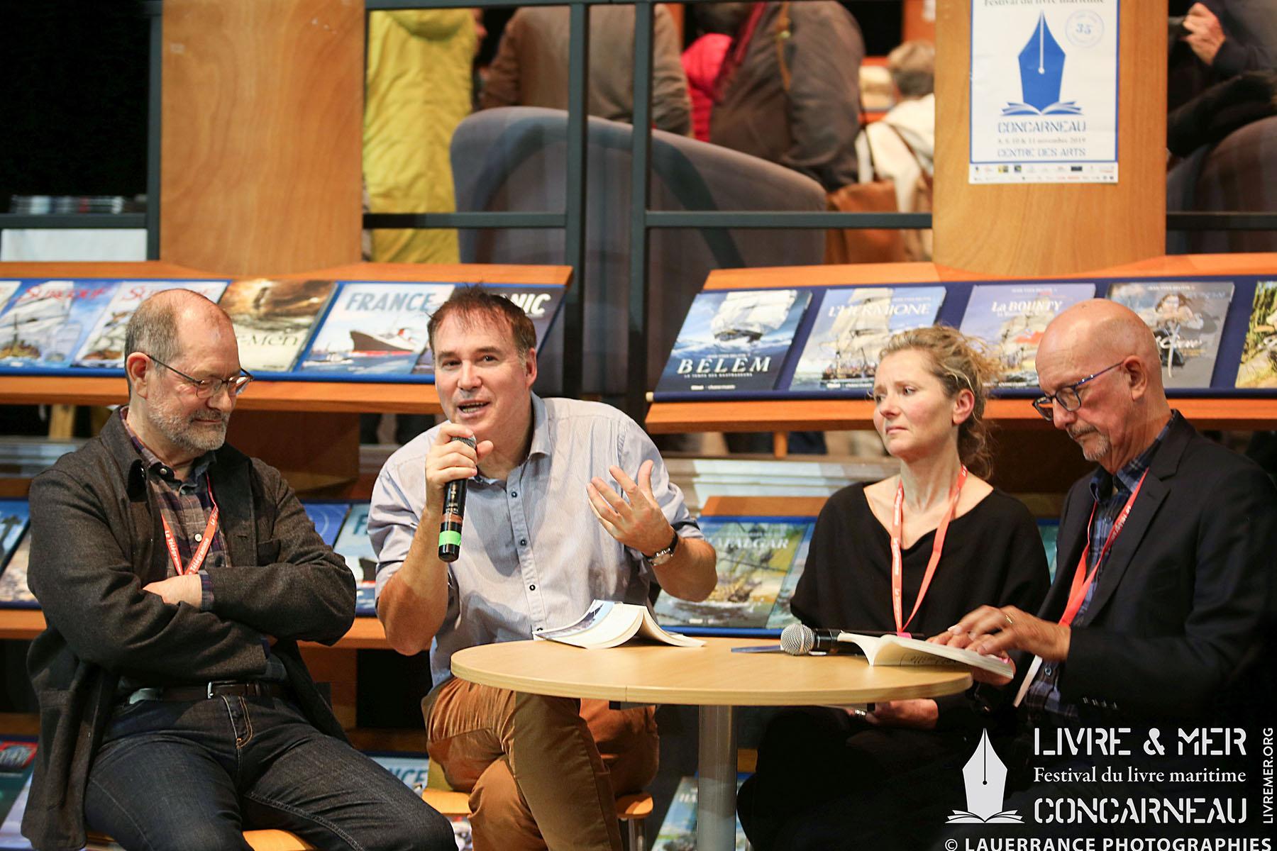 Jean-Paul Honoré, Alain-Gabriel Monot, Martine White & Gilbert Le Bras © Lauerrance Photographies