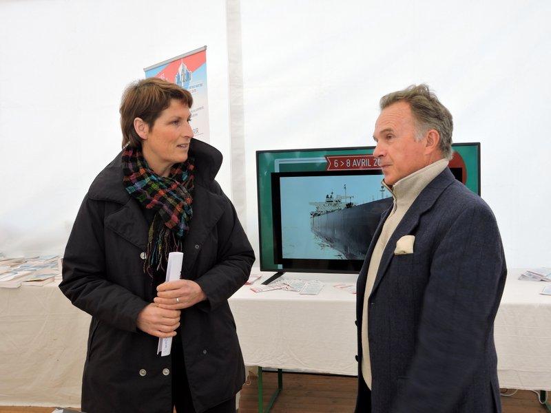 Dialogue entre Anne Quéméré et Laurent Mérer