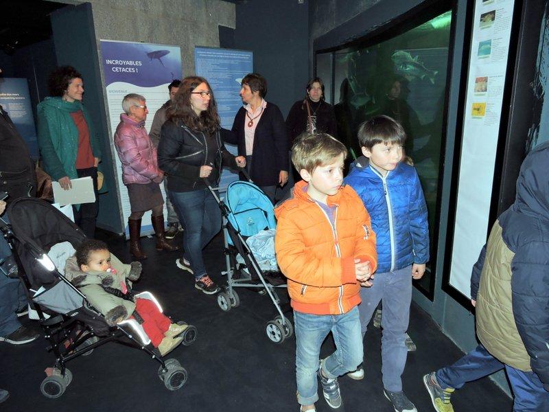 samedi, c'était visite guidée pour les adhérents de la Balises, accueillis, entre autres animations…