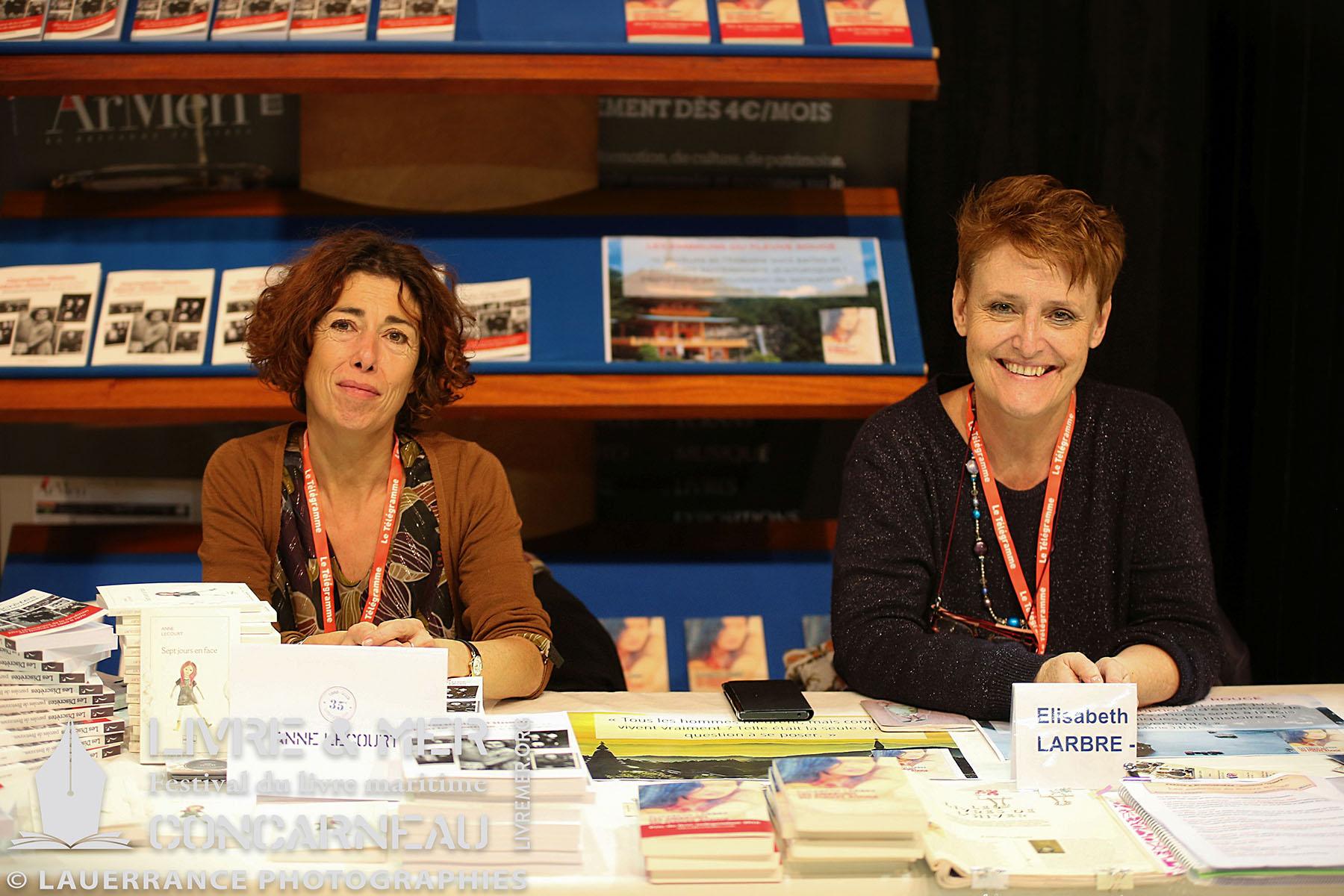 Anne Lecourt & Élisabeth Larbre © Lauerrance Photographies