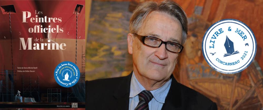 Denis-Michel BOËLL - Mention spéciale du Prix du beau livre maritime 2020