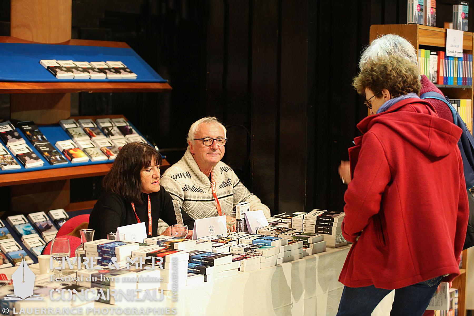Françoise Le Mer & Hervé Huguen © Lauerrance Photographies