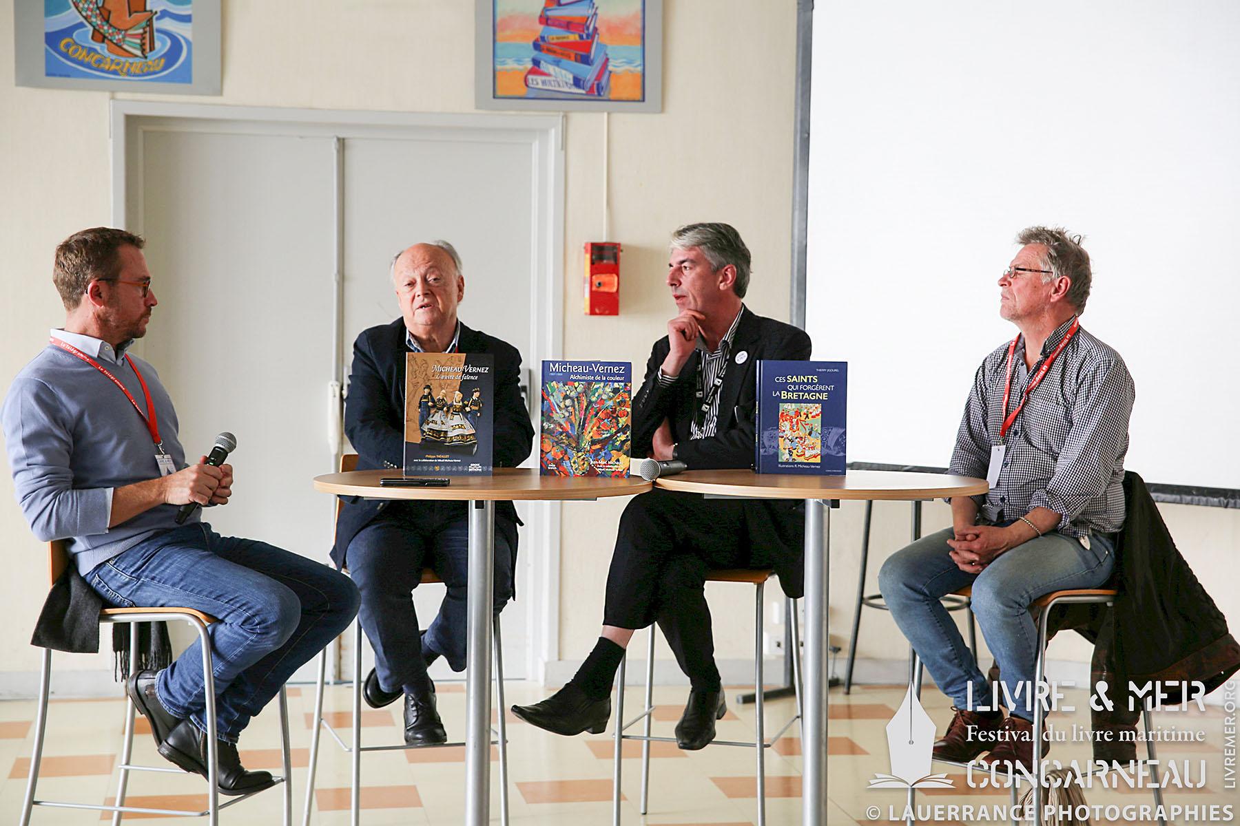 Philippe Théallet, Mikaël Micheau-Vernez, Brieg Haslé-Le Gall & Thierry Jigourel © Lauerrance Photographies
