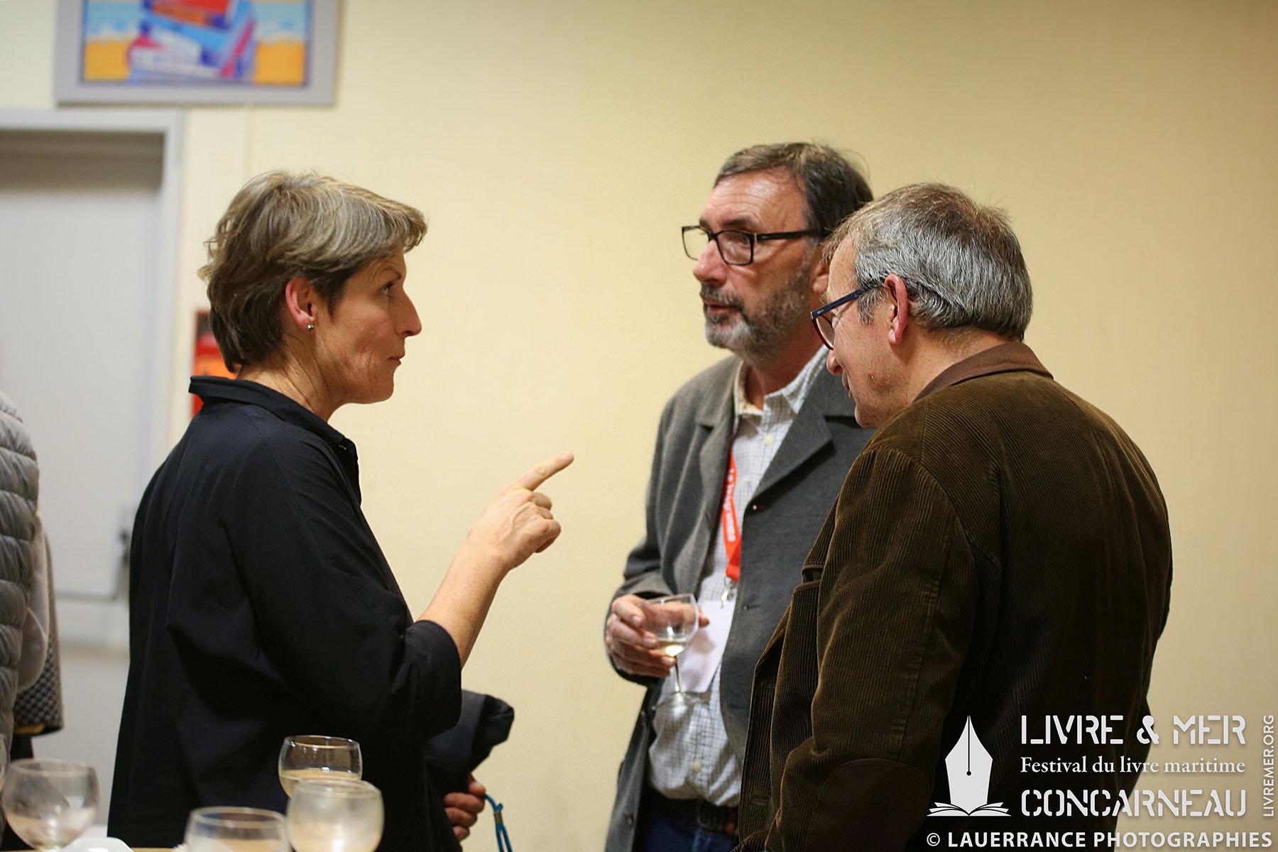 Anne Quéméré, Benoît Stichelbaut & Pierre-François Bonneau © Lauerrance Photographies