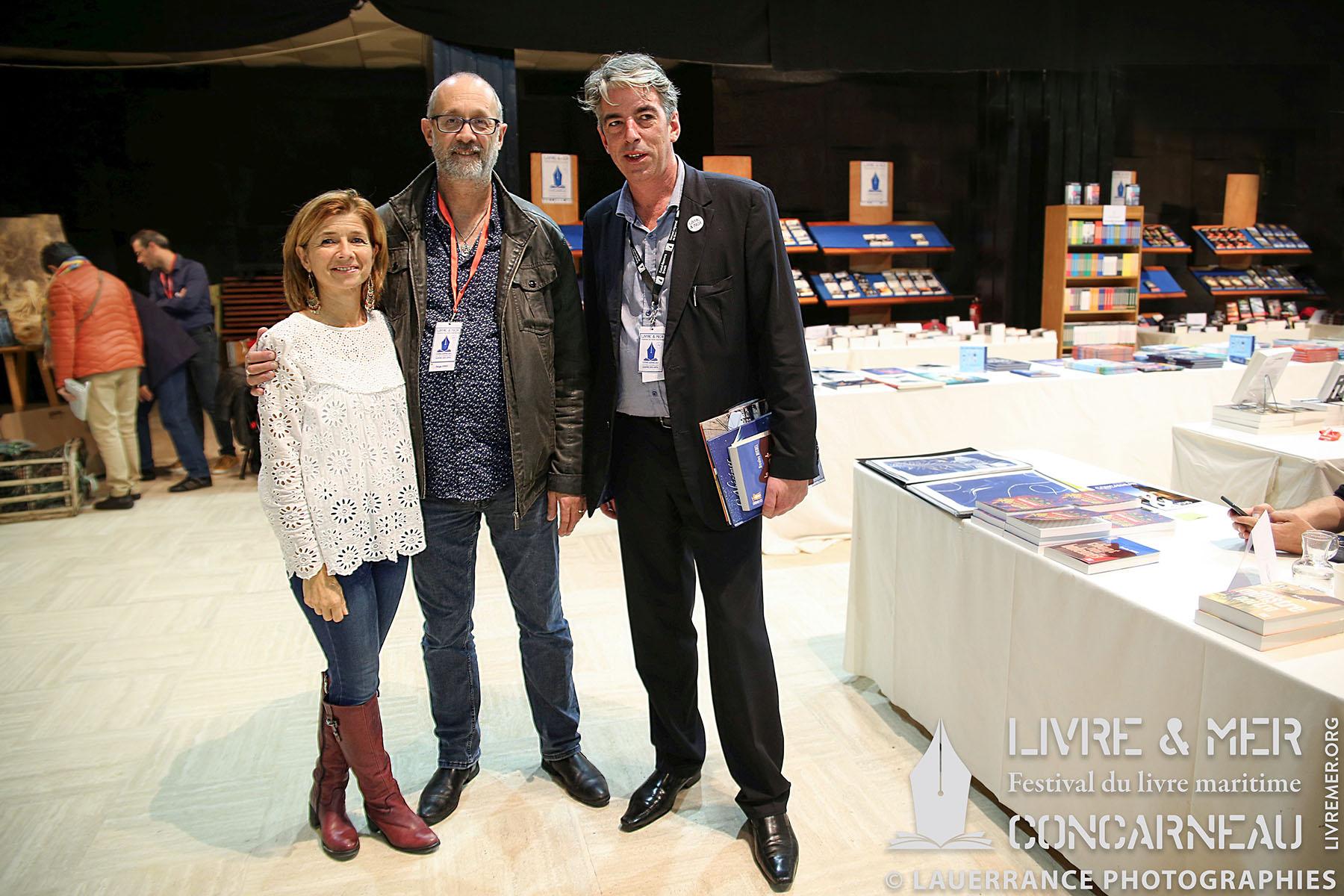 Amélia Corre, Serge Fino & BHLG © Lauerrance Photographies