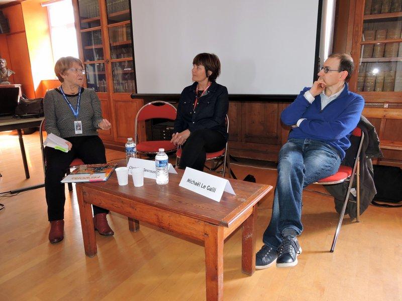 Christine Desrousseaux et Michaël Le Galli : La mer, piège ou refuge ?
