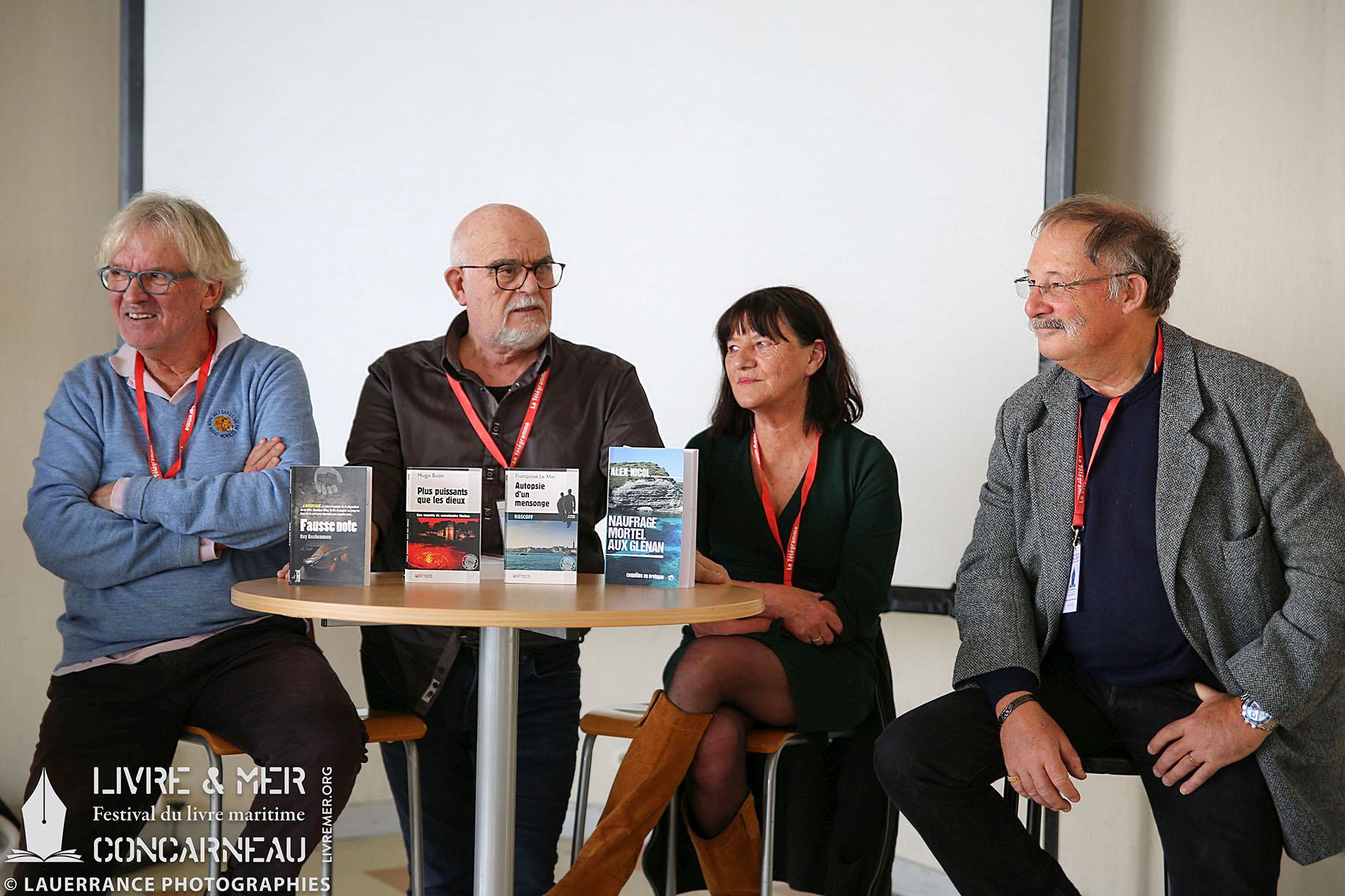 Guy Rechenmann, Christian Blanchard, Françoise Le Mer & Alex Nicol © Lauerrance Photographies
