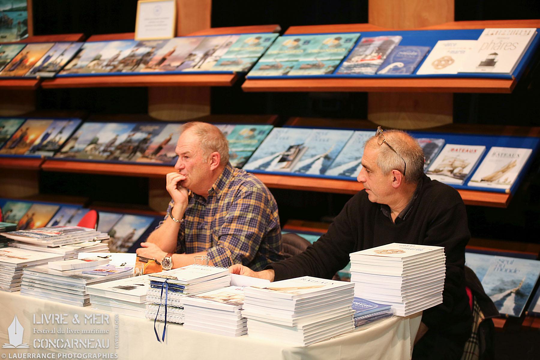 Philippe Gloaguen & Jean-Benoît Héron © Lauerrance Photographies