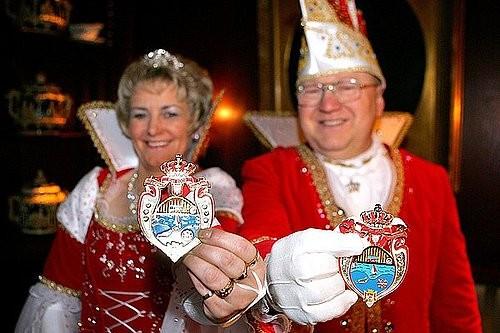Das Prinzenpaar der Landeshauptstadt Kiel